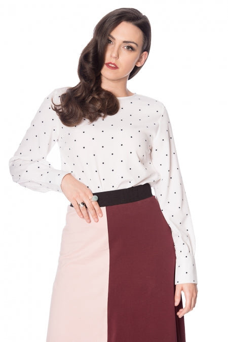 Banned Clothing - The Dotty Top