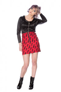 Banned Clothing - Thunderbolt Skirt