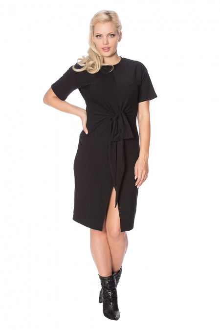 Banned Clothing - Tie Front Dress