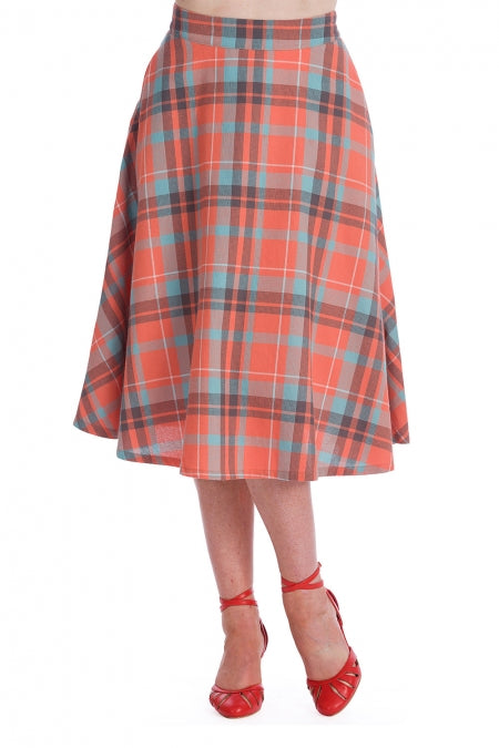 Banned Clothing - Treat Me Flare Skirt