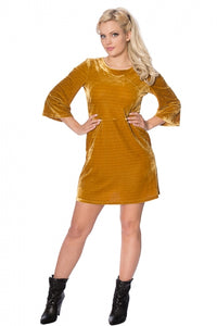 Banned Clothing - Velvet Dress