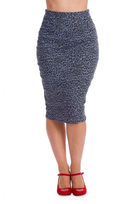 Banned Clothing - Wild Child Pencil Skirt
