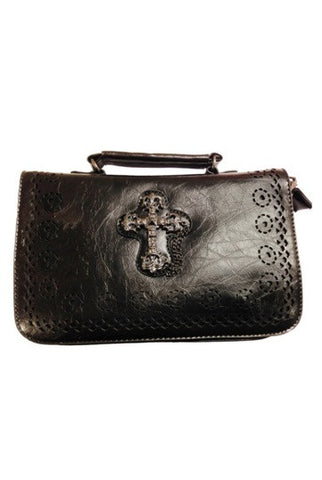Banned Apparel - Gothic Cross Handbag