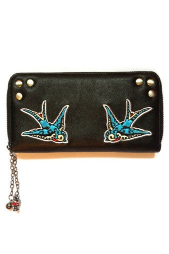 Banned Apparel - Swallows Wallet - Egg n Chips London