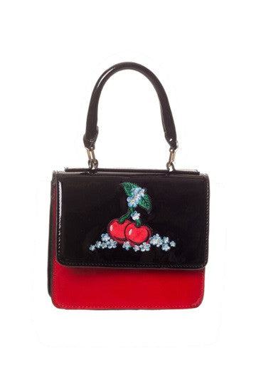 Banned Apparel - Small Cherry Handbag - Egg n Chips London