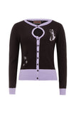 Voodoo Vixen - Black  Isabella Cardigan - Egg n Chips London