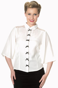 Banned Apparel - Bows Delight Blouse - Egg n Chips London