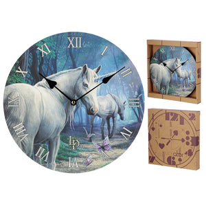 Decorative Unicorn The Journey Home Lisa Parker Wall Clock CKP130