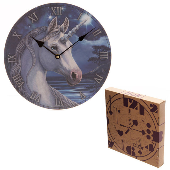Egg n Chips London - Fantasy Unicorn Design Decorative Wall Clock - Egg n Chips London