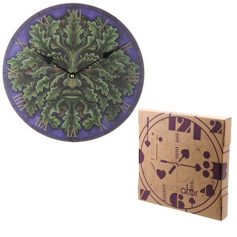 Egg n Chips London - Decorative Fantasy Greenman Wall Clock