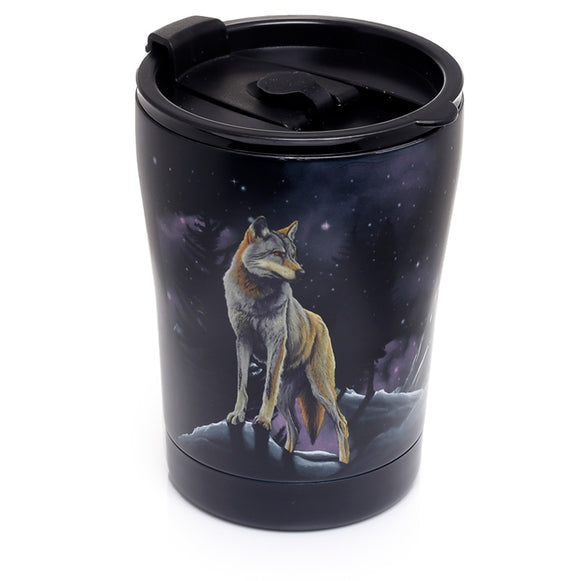 Reusable Stainless Steel Insulated Food & Drinks Cup 300ml - Protector of the North Wolf CUP48