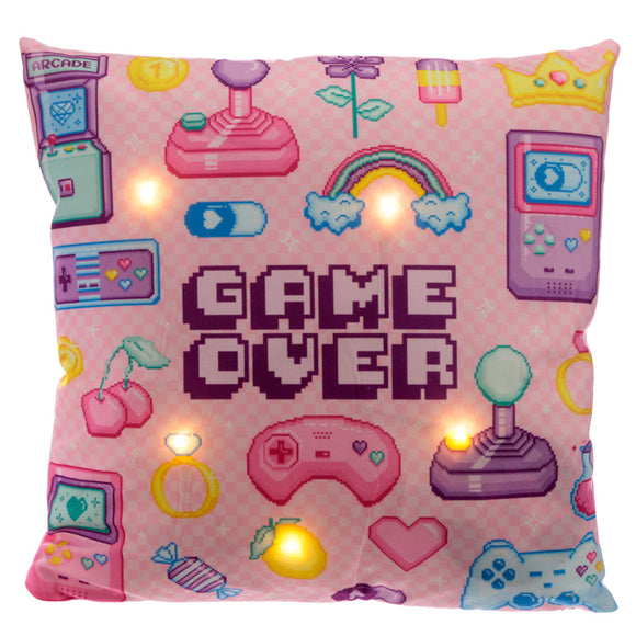 Decorative LED Cushion - Retro Gaming Next Gen CUSH207