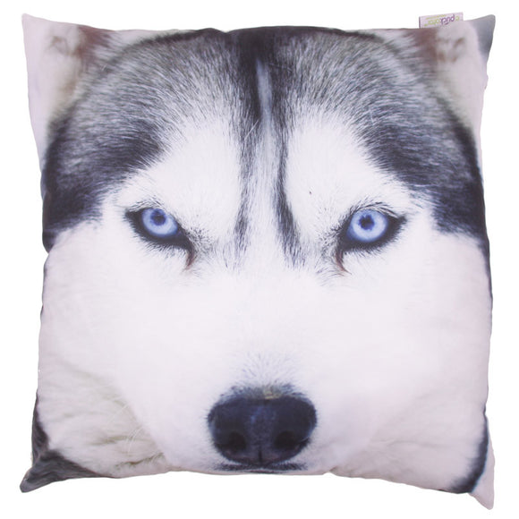 Egg n Chips London - Decorative Wolf Print Cushion - Egg n Chips London