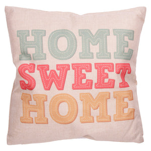 Egg n Chips London - Cushion with Insert - HOME SWEET HOME - Egg n Chips London