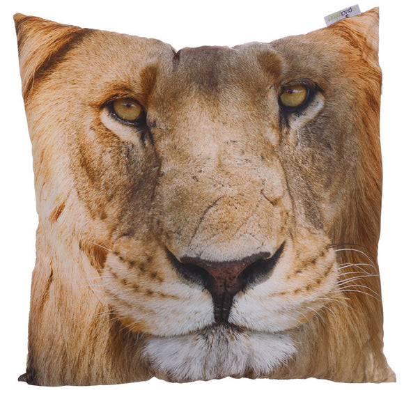 Egg n Chips London - Decorative Lion Cushion - Egg n Chips London