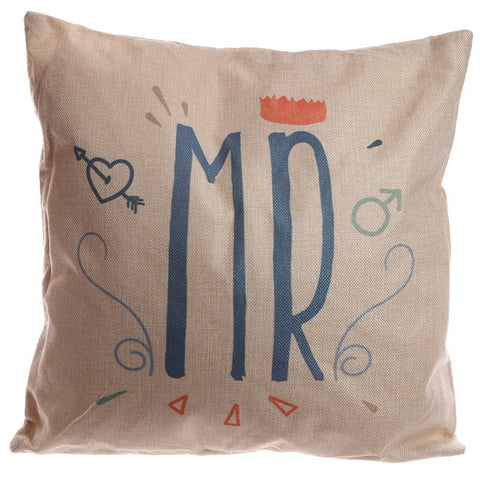 Egg n Chips London - Cushion with Insert - MR 43 x 43cm