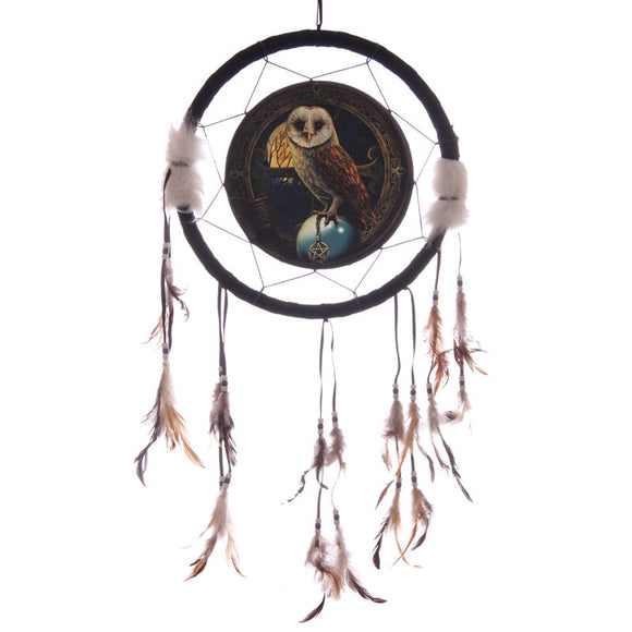 Egg n Chips London - Decorative Magical Barn Owl 34cm Dreamcatcher - Egg n Chips London