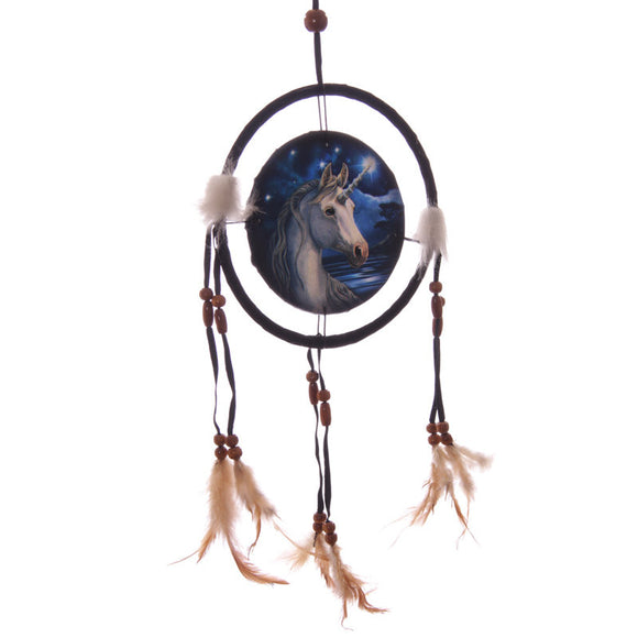 Egg n Chips London - Decorative Mystical Unicorn 16cm Dreamcatcher - Egg n Chips London
