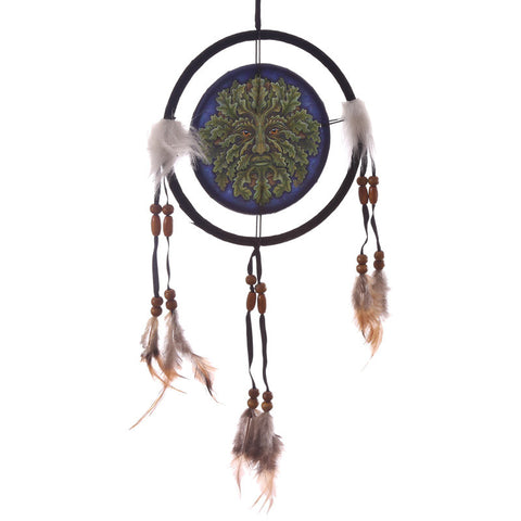 Egg n Chips London - Decorative Fantasy Greenman Dreamcatcher Small