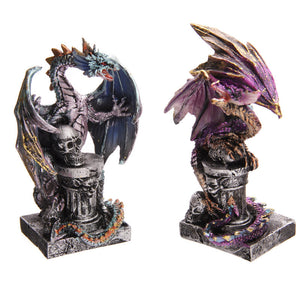 Egg n Chips London - Pillar Dragon Fantasy Collectable Figurine - Egg n Chips London