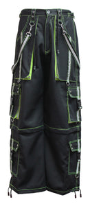 Dead Threads - Black and Neon Yellow Men's Trouser