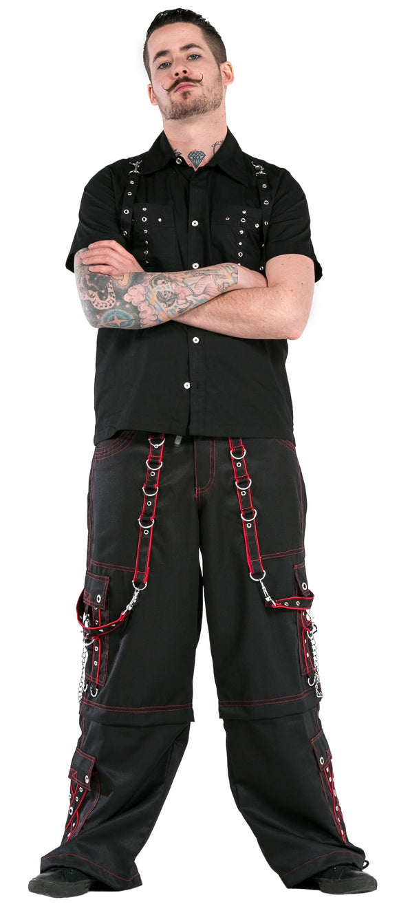 Dead Threads - Eight Pockets Zips off Wide Leg Pants