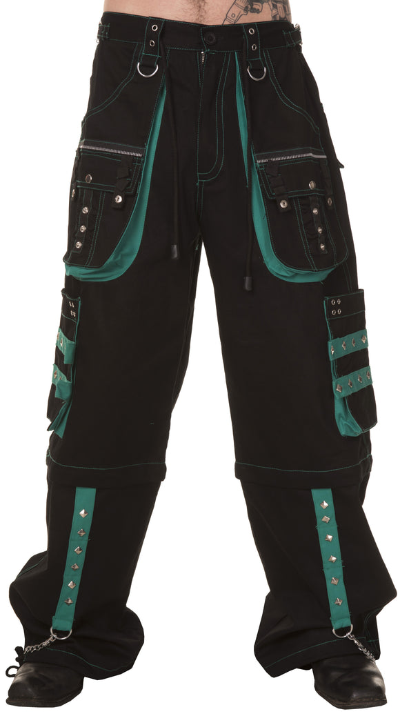 Dead Threads - Four pockets Black and Green Men's Trouser
