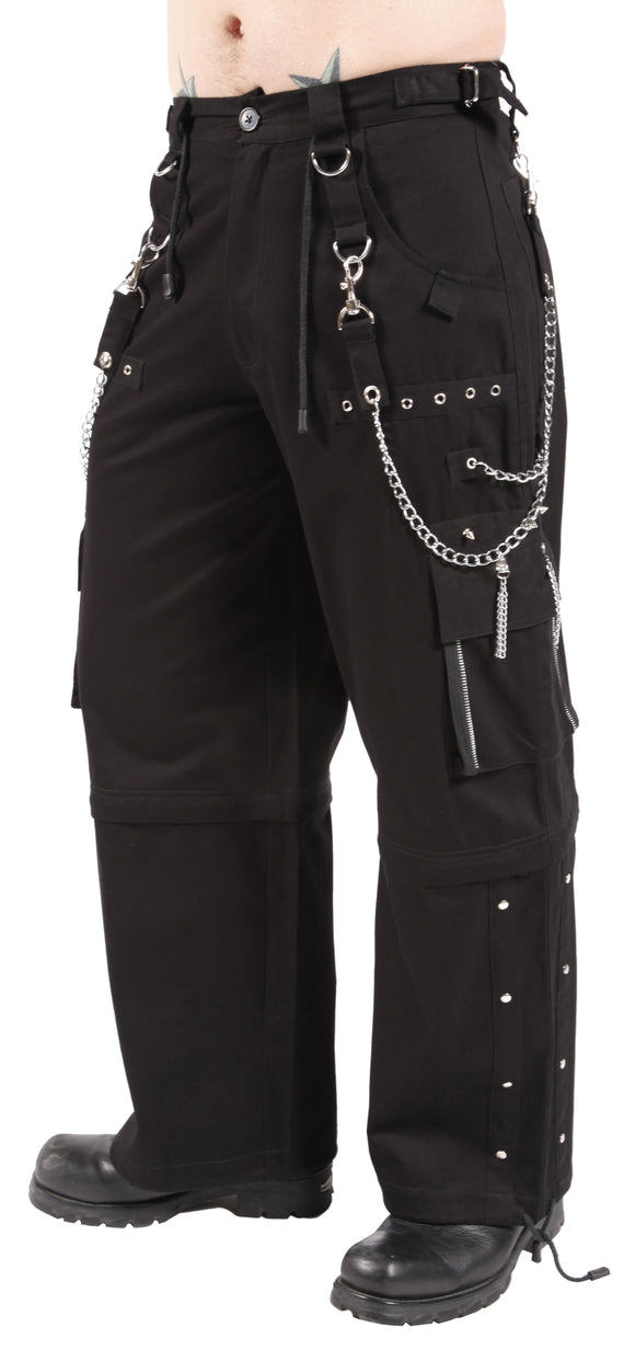 Dead Threads - Six pockets Black Baggy Style Pants
