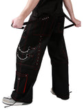 Dead Threads - Six pockets Red Stitching Baggy Pants