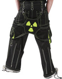 Dead Threads - Two pockets Black and Neon Yellow Men's Trouser