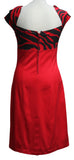 Dead Threads - Women's Red with White Bow Dress