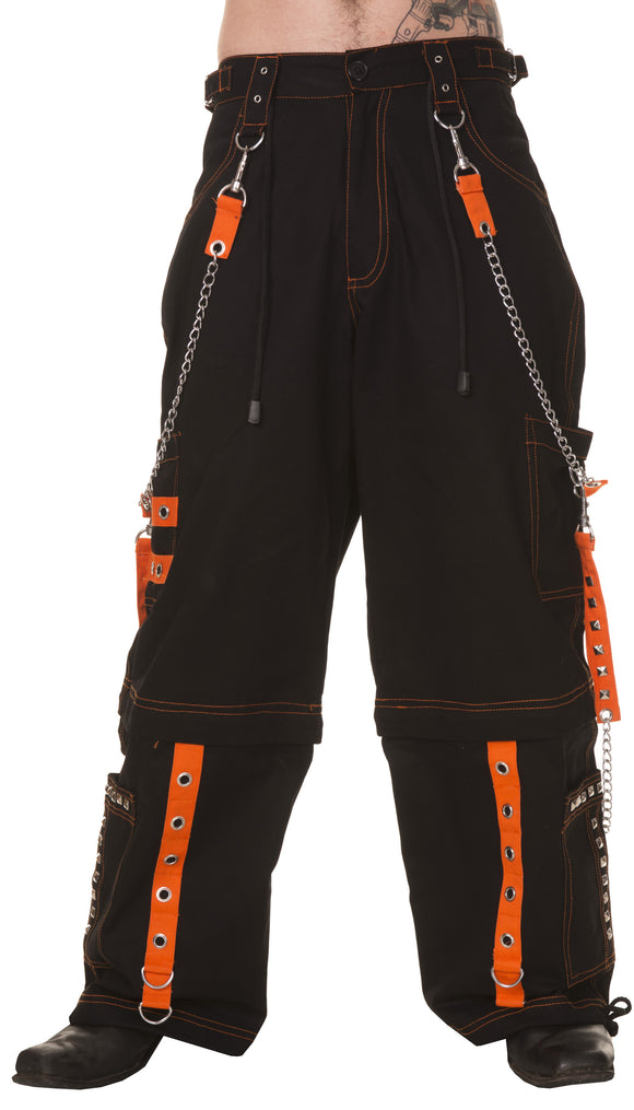 Dead Threads - Six pockets Black and Orange Men's Trousers