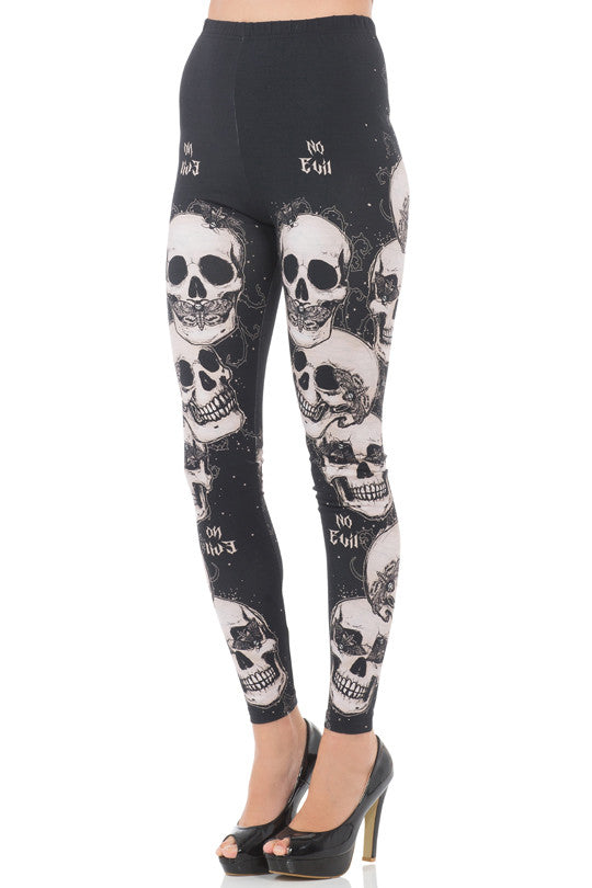 Jawbreaker Clothing - Do No Evil Leggings - Egg n Chips London