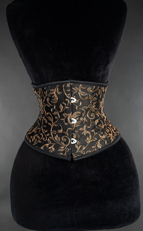 Dracula Clothing - Steampunk Axinite Waist Cincher