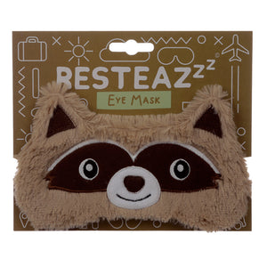 Fun Eye Mask - Plush Raccoon EPP32