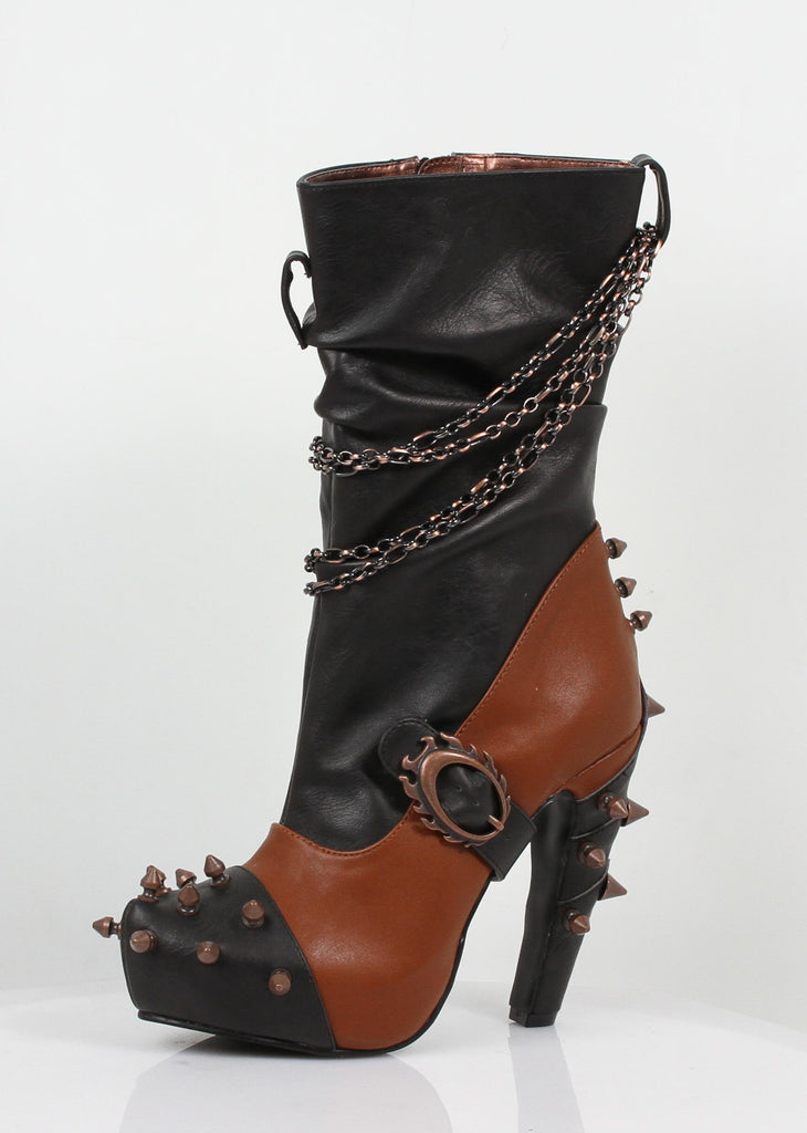 Hades Shoes - Women's Faline Brick Booties