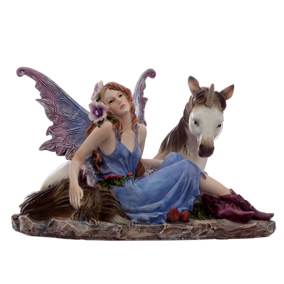 Summer Daydream Spirit of the Forest Fairy Figurine FY446