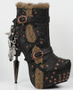 Hades Shoes - Griffin Steampunk Booties