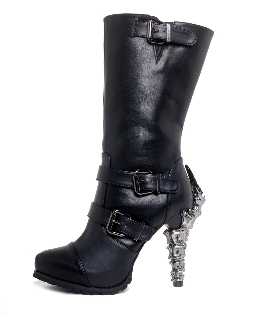 Hades Shoes - Arma Heavy Metal Biker Inspired Boots - Egg n Chips London