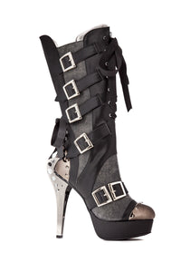 Hades Shoes - Liv Knee High Ankle Bootie