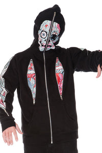 Jawbreaker Clothing - Horrified Full Face Hoodie - Egg n Chips London