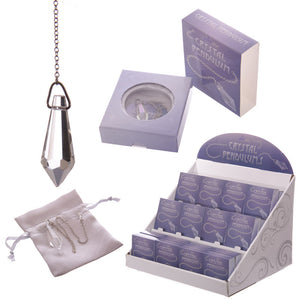 Egg n Chips London - Crystal Pendulum with Gift Pouch and Box - Egg n Chips London