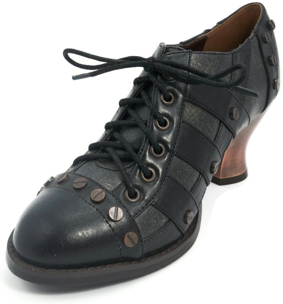 Hades Shoes - Jade Victorian Shoes