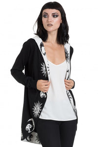 Jawbreaker Clothing - Black Moonstone Cardigan