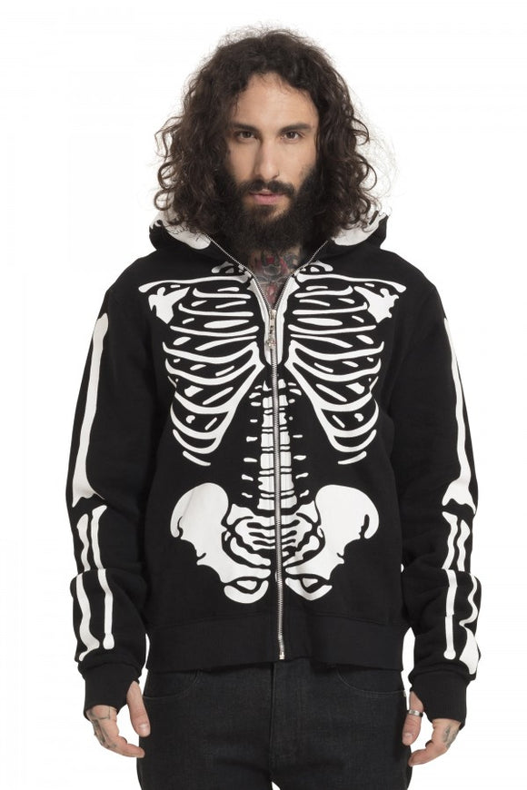 Jawbreaker Clothing - Black Skeletor Hoodie