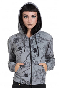 Jawbreaker Clothing - Grey Alchemy Hoodie