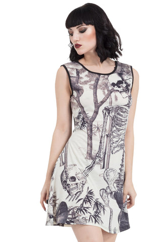 Jawbreaker Clothing - Light N Morbid Skater Dress
