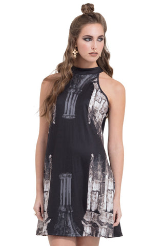 Jawbreaker Clothing - Women's Black Church Colmn Dress