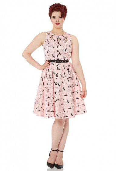 Voodoo Vixen - Kitty Summer Time Dress - Egg n Chips London