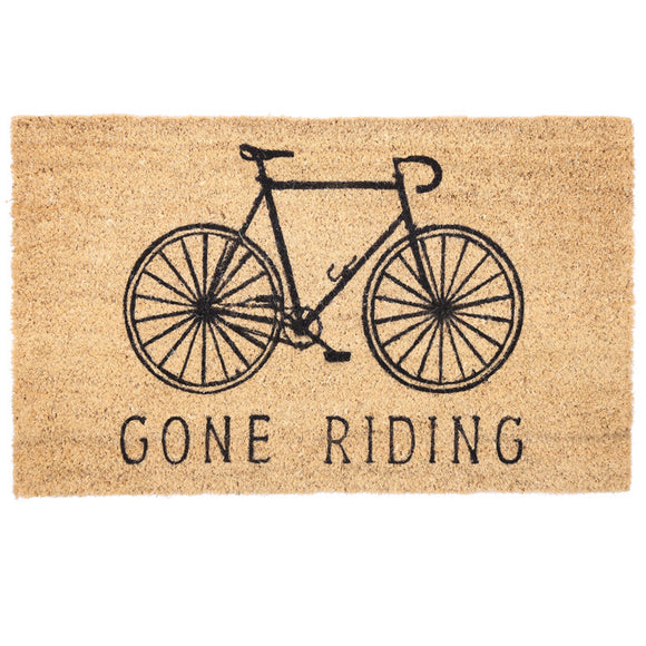 Egg n Chips London - Coir Door Mat - Gone Riding - Egg n Chips London